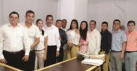 Noticias de Cúcuta: ALCALDE DE LOS PATIOS POSESIONÓ PARTE DE SU GABINE...