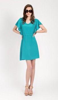 Natalie,emerald,spring,summer,butterfly,eco-friendly,dress, Amour Vert