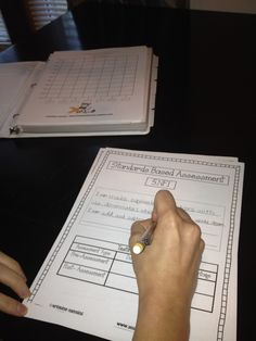 Organizing your math data binders PART 2!!! Adding in the standards based assessments! wow!