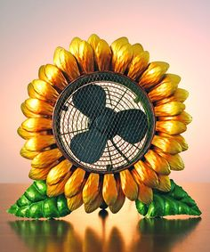 Yellow Sunflower Fan | Something special every day