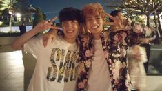 jhope's twitter update with taehyung