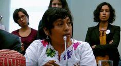 AYOTZINAPA: Padres de desaparecidos en reunión de la CIDH, en Lima Perú