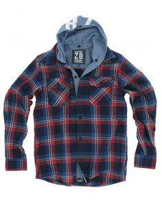 Z8-kids blouse ruit jongens