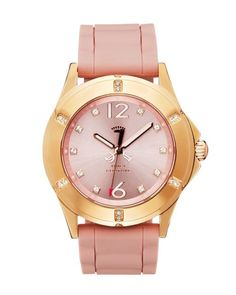Rich Girl Pink Gold and Pink Watch.