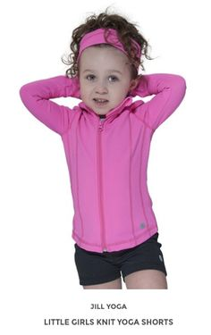 Jill Yoga activewear offers the latest in quality, fashionable yoga and activewear all at great prices! Yoga Shorts, Active Wear For Women, Little Girls, Hoodies, Knitting, Lady, Sweaters, Fashion, Sweatshirts