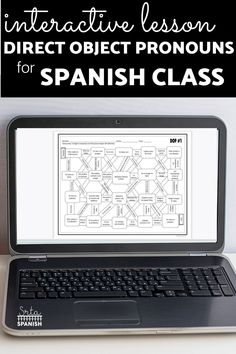 Are you looking for a fun activity to practice direct object pronouns in Spanish? This twist on a worksheet can be turned into a game for your classroom! This is perfect for your middle school and high school students to practice DOPs in Spanish class! These activities are printable and digital with Google Slides so they are flexible for your review activities! Click the link to see more! Spanish Lesson Plans, Spanish Lessons, Spanish Classroom, Teaching Spanish, Object Pronouns, Middle School Spanish, Class Activities, High School Students, Printable