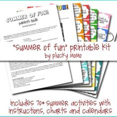summer activity kit