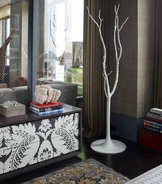 15 Llamativo Bastidores árbol en forma de romper la monotonía en el diseño interior - Top Inspiraciones