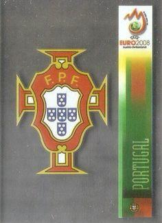 103 - Badge - Portugal - UEFA Euro 2008 - Panini
