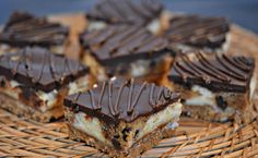 These are creamy and rich, with a delicious chocolate brownie base and a no-egg…
