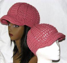 365 Crochet!: Newsboy Beanie Hat -free crochet pattern-