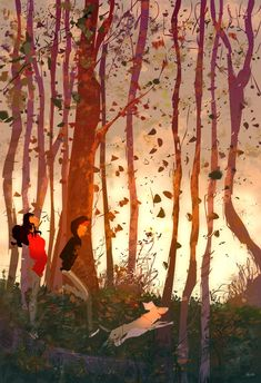 Into the fall. Pascal Campion