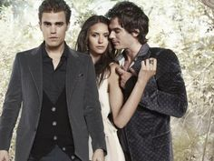 Paul Wesley, Nina Dobrev & Ian Somerhalder - Vampire Diaries