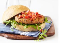 Black Bean Burger  By Oxygen Magazine Get lean with this clean take on a burger! Vegetarian friendly!