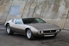 Used 1969 DeTomaso Mangusta Stock # 22154 in Astoria, NY at Gullwing Motor Cars, NY's premier pre-owned luxury car dealership. Come test drive a DeTomaso today! Pantera Car, Automobile, Buy Classic Cars, Luxury Car Dealership, Car Logos, Futuristic Cars, Retro Cars, Automotive Design, Amazing Cars
