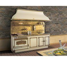 Cucina completa in metallo con accessori di cottura- Restart ...