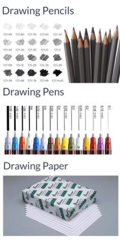 'Most Essential Drawing Tools Professional Artists Use...!' (via inspirationfeed.com)