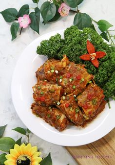 Fish that has been polluted with pollock and dried up is ecological and dynamic. Pollock Fish Recipes, Seafood Soup, Shellfish Recipes, Korean Food, Ratatouille, Tandoori Chicken, Chicken Wings, Stew, Cooking Recipes