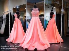Have your crowning moment in this beautiful coral ball gown, and it's at Rsvp Prom and Pageant, your source?ÿfor the HOTTEST Prom and Pageant Dresses! Gorgeous Prom Dresses, Pink Prom Dresses, Coral Dress, Pageant Dresses, Quinceanera Dresses, Ball Dresses, Beautiful Gowns, Ball Gowns, Formal Dresses