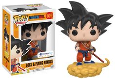 Funko Pop Dragon Ball - Goku and Flying Nimbus Orange Suit Exclusive