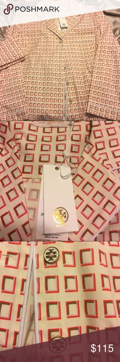 ⏰DELETING 2PM  Tory Burch night shirt Tory Burch night shirt  with matching travel pillow case , size Large NWT retail $195 Tory Burch Intimates & Sleepwear