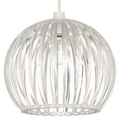 Buy John Lewis Easy-to-fit Mondo Acrylic Pendant Shade Online at johnlewis.com
