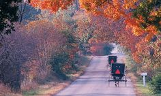 Amish Country - would be neat for a fall weekend getaway