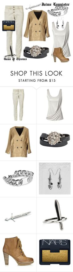 """""""Jaime Lannister"""" by wica-witch ❤ liked on Polyvore featuring ONLY, Jane Norman, Mauro Grifoni, Alexandra Beth Designs, NLY Accessories, Jigsaw and NARS Cosmetics"""