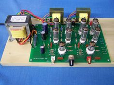 16w DIY tube amp kit $290