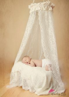Newborn Canopy Photo Prop by SewBarefoot on Etsy, $34.95