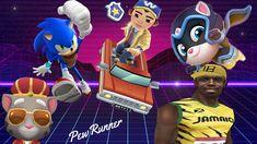 Sonic Dash - Talking Tom Gold Run - Hero Dash - Subway Surfers - Temple ... Temple Run 2, Sonic Dash, Subway Surfers, Mickey Mouse, Toms, Hero, Running, Keep Running, Why I Run