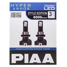 Kjøp på Luminix.no - H8/H9/H11/H16 | PIAA Hyper Arros LED 6000K -   PIAA Hyper Arros 6000K LED er LED-kitet for deg som ønsker økt lysmengde fra dine pærer, samt det stilige LED-utseendet på bilen. Med en lysstyrke på 2000 lumen pr. pære, får du en fantastisk økning i lysmengde med ditt originale lysbilde.    Hyper Arros 6000K LED er også CANbus-kompatibelt med de medfølgende PCU-kontrollenhetene som hindrer feilkoder, uten å øke strømforbruket slik konvensjonelle motstander gjør.     LED… Style, Lily, Velvet, Swag, Outfits