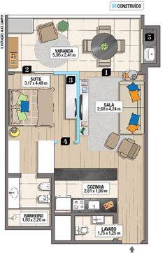 O estilo de vida do morador pautou toda a mudança do layout. Derrubada da porta do terraço estendeu a ala social para as visitas