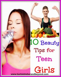 10 Beauty Tips for Teen Girls and no you don't need lot's of makeup!!