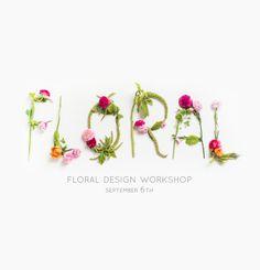 floral workshop   sugarandcloth.com