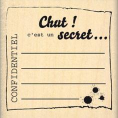 C\'EST UN SECRET