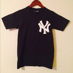 NY Yankees Alex Rodiguez Shirt Nice quality. Small ladies. Navy Tops Tees - Short Sleeve