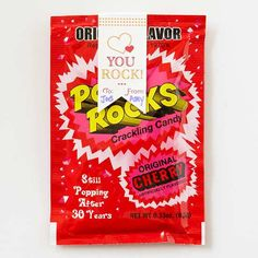 YOU ROCK valentine idea w/ printable tag