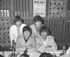 Beatles Press Conference Maple Leaf Gardens Toronto Aug. 17 1966