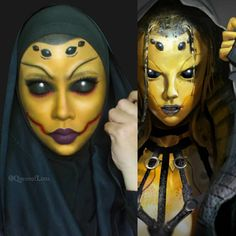 """""""D'Vorah from Mortal Kombat.  Requested by my best bud, Liv @stardust_1985. My eyes are actually closed, no contacts no edit lel. Also I wore falsies on…"""""""
