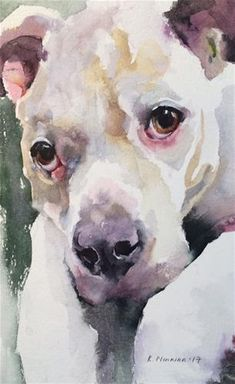 "Daily Paintworks - ""adopt237"" - Original Fine Art for Sale - © Katya Minkina"
