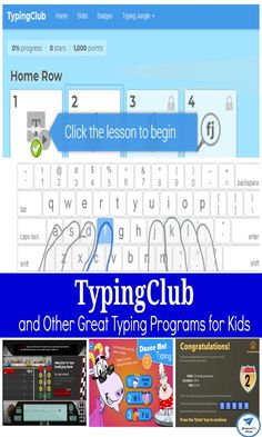 TypingClub and Other Free Typing Programs for Kids to Explore Typing Programs For Kids, Early Learning, Kids Learning, Learning Activities, Activities For Kids, Shark Activities, Free Typing, Online Games For Kids, Coding For Kids