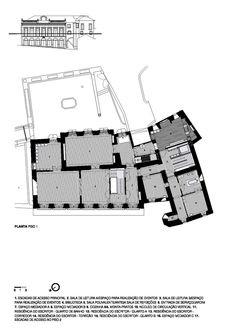 Casa da Escrita,Plan