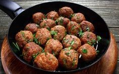 Makes 12 meatballs. Serving Size: 2 meatballs for women, 3 for men. Food N, Food And Drink, Fun Cooking, Cooking Recipes, Turkey Meatballs, Greek Recipes, Serving Size, No Cook Meals, Main Dishes