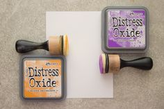 Working with Distress Oxide Inks – Amazing!