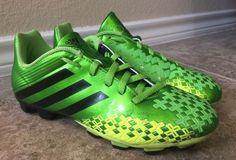 Adidas Boys Sz 4.5 Predito LZ TRX FG Soccer Cleats Shoes #adidas