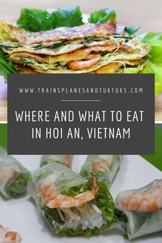 Hoi An is the foodie capital of Vietnam. Discover all the best local dishes -- from street food to fine dining -- in this list of the best Hoi An restaurants. #vietnam #travel