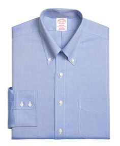 Brooks Brothers Royal Oxford Dress Shirt | Father's Day gift guide | Fashionably Clearance