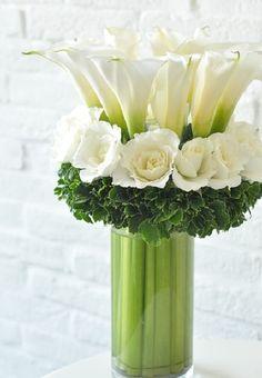 Hermosas ideas de arreglos florales de Hortensia 28