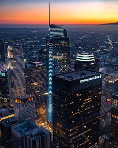 Downtown Los Angeles by @patrick_la | CaliforniaFeelings.com #california #cali #LA #CA #SF